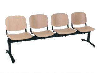 ANTARES Čtyřmístná lavice 1124 LN (LG)