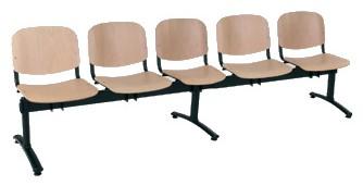 ANTARES Pětimístná lavice 1125 LN (LG)