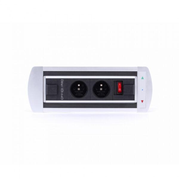 OFFICE PRO Elektrifikace Vault BTCZ 011 - Zásuvky přímo na vašem stole