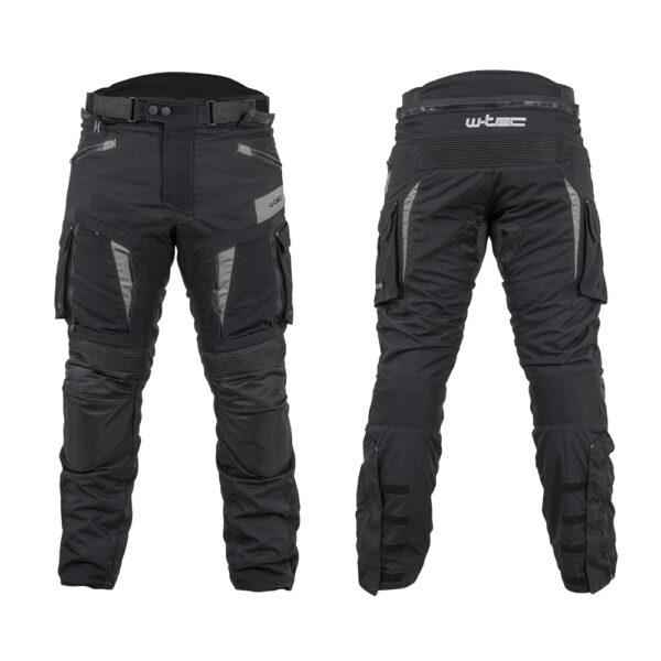 W-TEC Aircross kalhoty černo-šedá - 6XL
