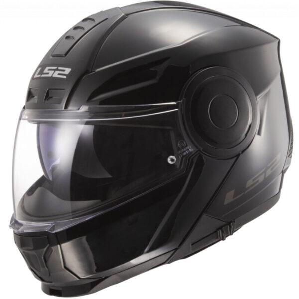 LS2 FF902 Scope Solid Gloss Black - XL (61-62)