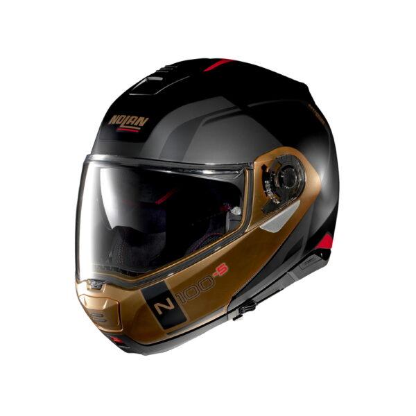 Nolan N100-5 Consistency N-Com Flat Black-Bronze - XXL (63-64)