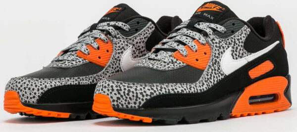 Nike Air Max 90 black / white - safety orange EUR 46